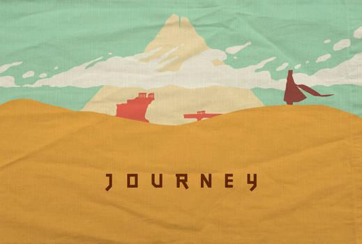 Journey - Minimalist Poster