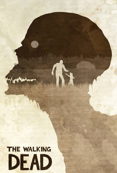 Don't Worry, Clementine - The Walking Dead Poster by edwardjmoran