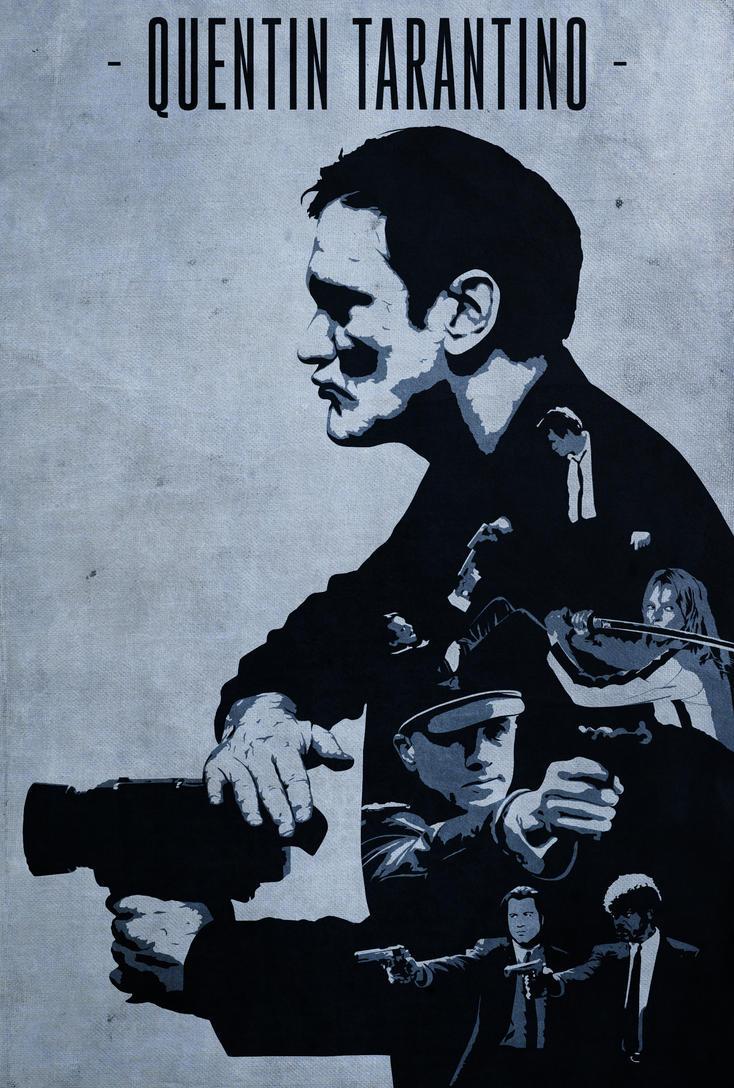 Quentin Tarantino by disgorgeapocalypse on deviantART