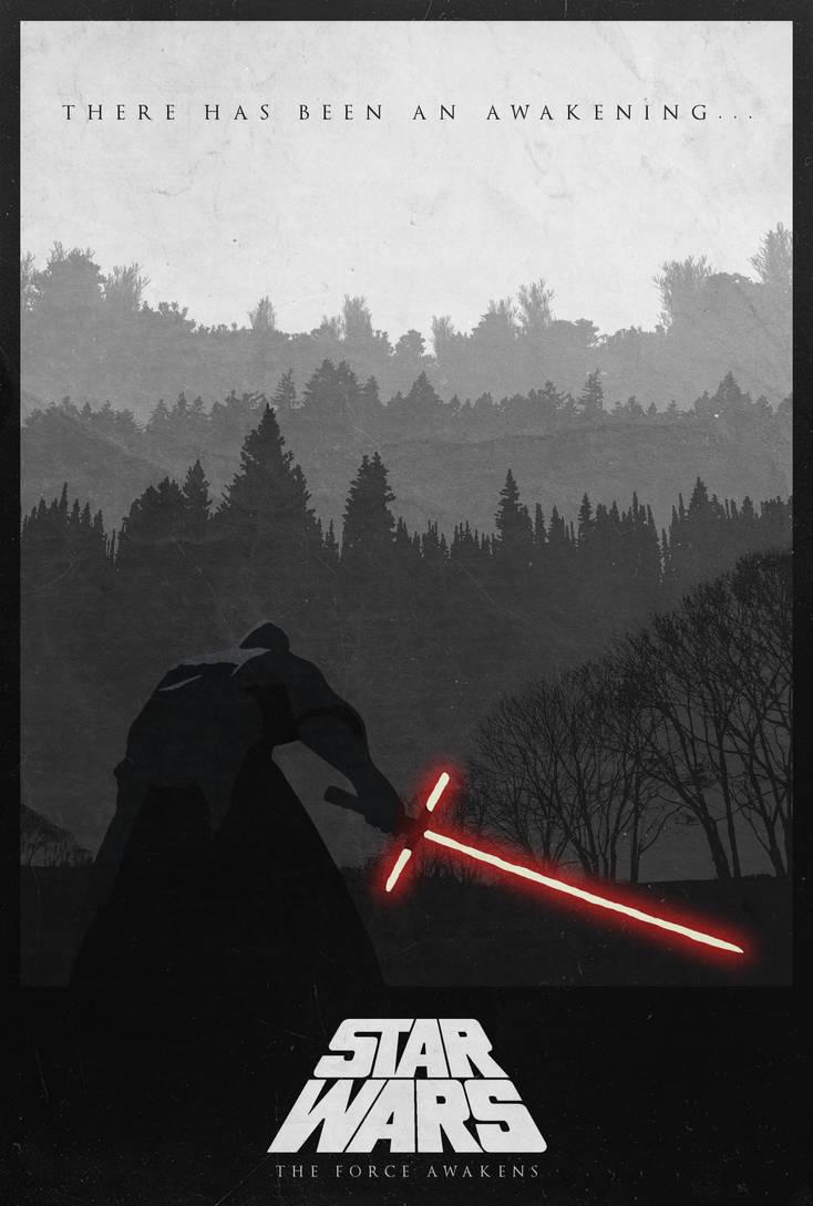Star Wars VII: The Force Awakens Alternate Poster by edwardjmoran