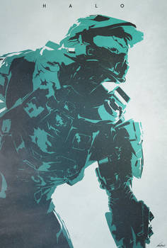 The Master - Halo Poster