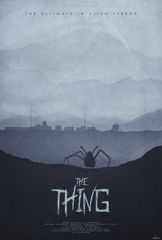 Winter - The Thing (1982) Poster