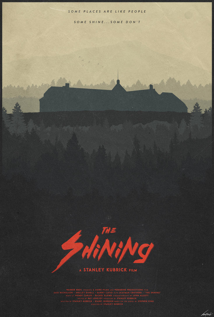 The Overlook - The Shining Poster by edwardjmoran