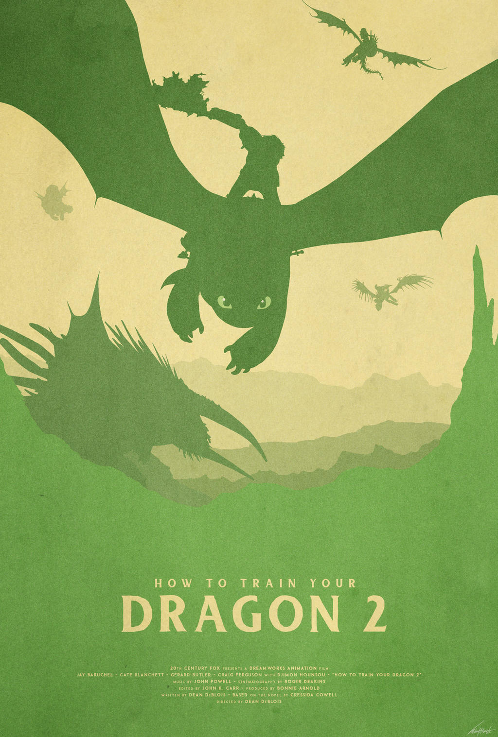 Brotherhood - How to Train Your Dragon 2 Poster by ...
