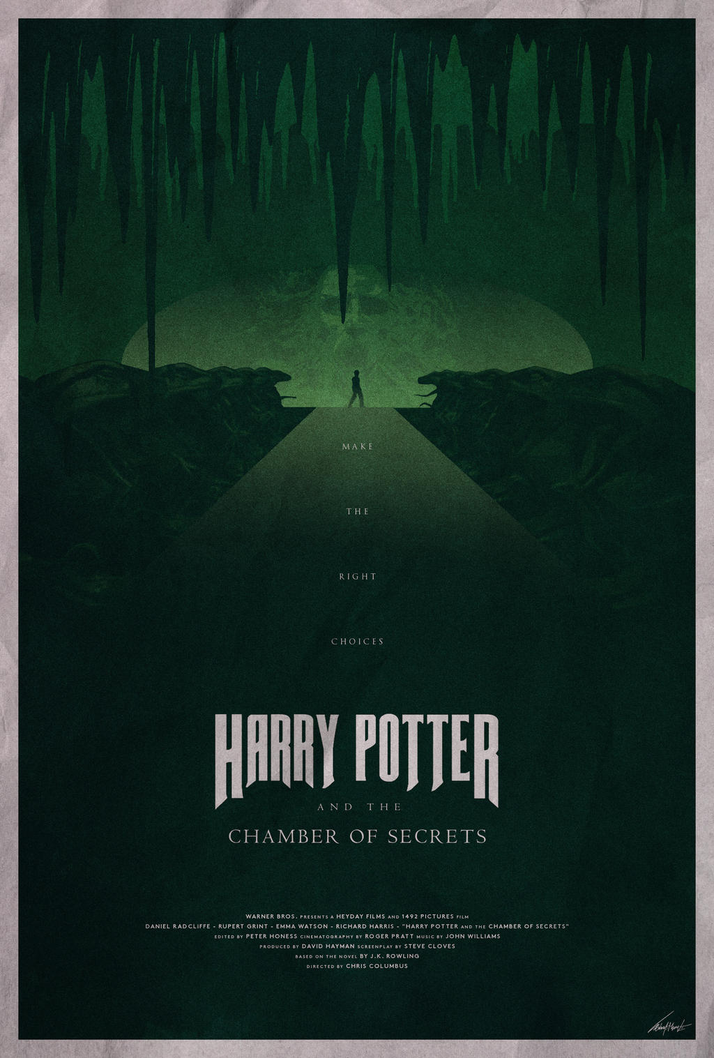 Harry potter and the chamber of secrets poster by - Harry potter chambre secrets streaming ...