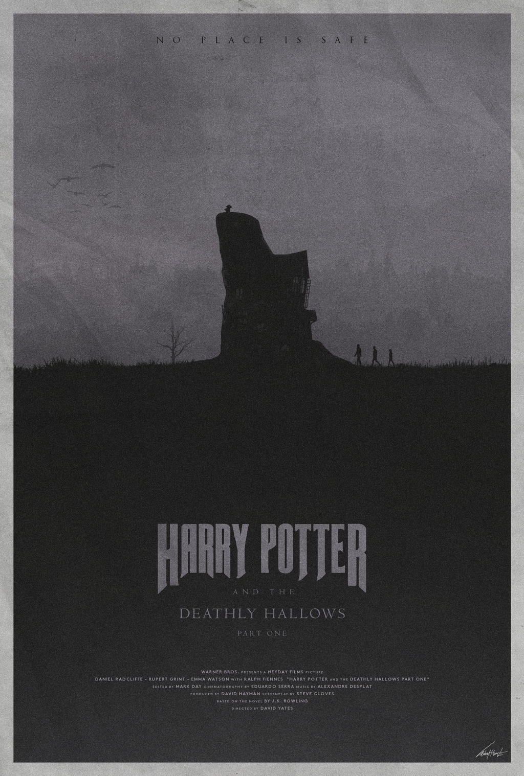 Harry Potter and the Deathly Hallows Pt 1 - Poster