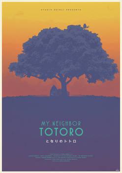 The Spirit Tree - My Neighbor Totoro Poster