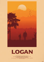 One Last Time - Logan Poster