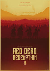 No Looking Back - Red Dead Redemption 2 Poster by edwardjmoran