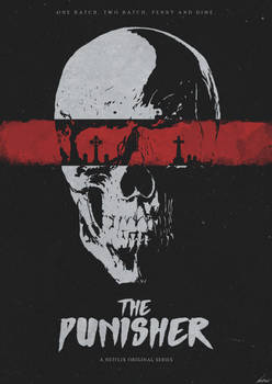 One Bad Day Away - The Punisher (Netflix) Poster