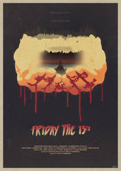 He's Coming - Friday the 13th Poster