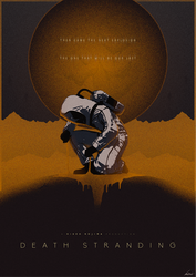 To Hold Infinity - Death Stranding Poster