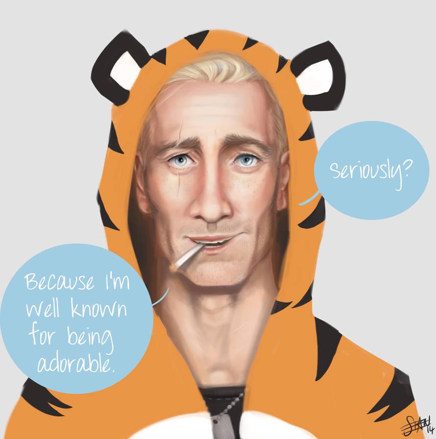 Sebastian Moran: Tiger Onesie