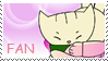 There she is Fan Stamp by ChibiRat3019