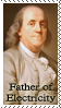 Father of Electricity stamp