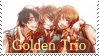 Golden Trio stamp by ChibiRat3019