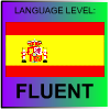 Spanish Language Level FLUENT by PicOfLanguages
