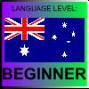 English Language Level Australia BEGINNER by PicOfLanguages