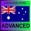 English Language Level Australia ADVANCED by PicOfLanguages
