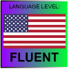 English Language Level American FLUENT by PicOfLanguages