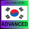 Korean Language Level ADVANCED by PicOfLanguages
