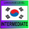 Korean Language Level INTERMEDIATE by PicOfLanguages