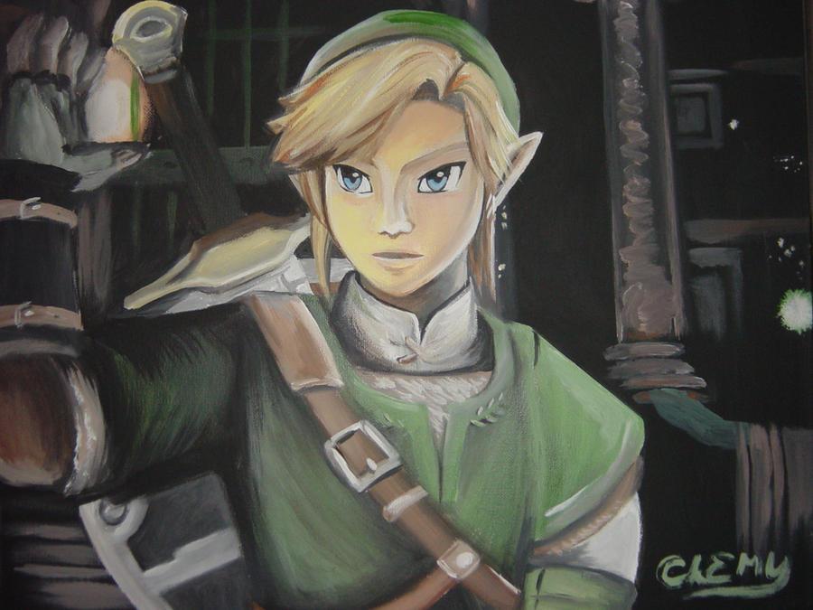Wii U Link in Acrylic by DNLINK