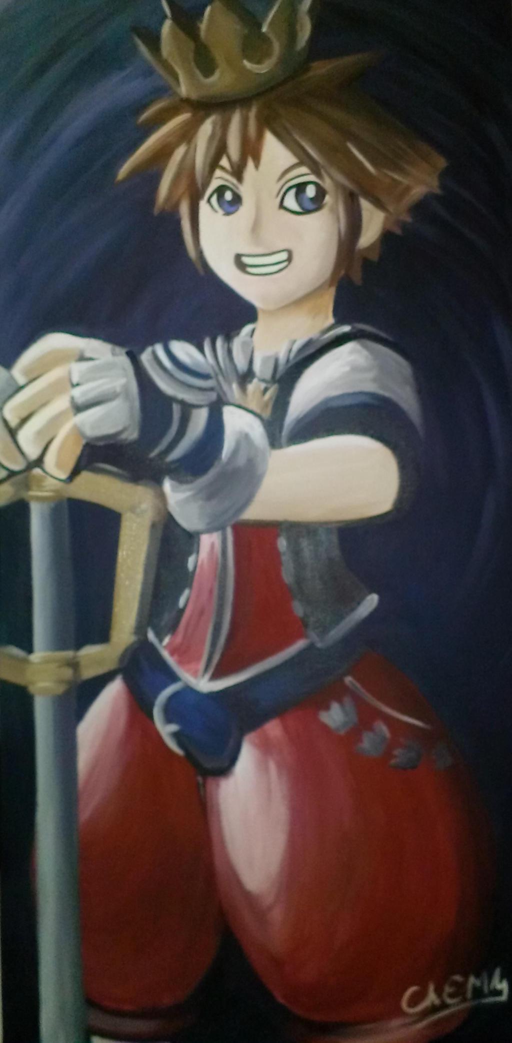 Sora Figurine Painting by DNLINK