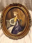 The Oval Portrait of Zelda