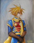 Portrait of Isaac, Golden Sun
