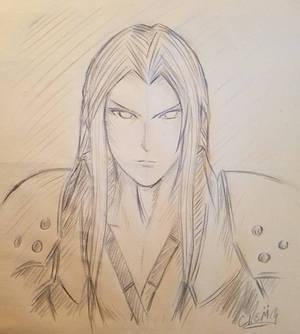 Sephiroth Sketch Study