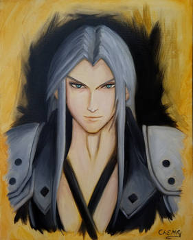 Sephiroth in Oils