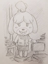 Isabelle Sketch Study