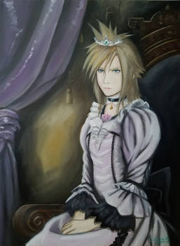 Dressed Up Cloud Portrait