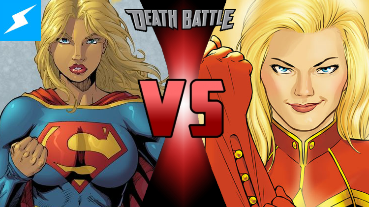 captain marvel vs supergirl