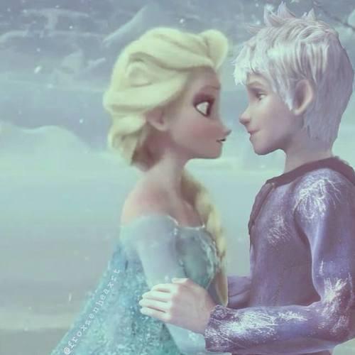 Jelsa- Elsa Y Jack Frost By Dannet2096 On DeviantArt
