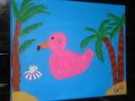 Flamingo Duckie