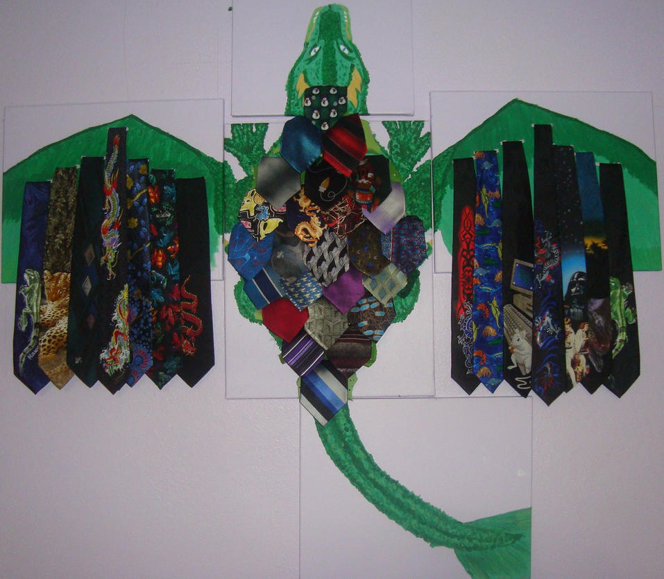 Tie Dragon by GalaxyGoddess