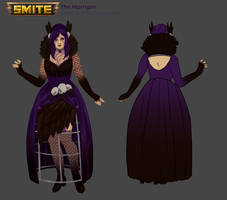 SMITE - The Morrigan dress commission