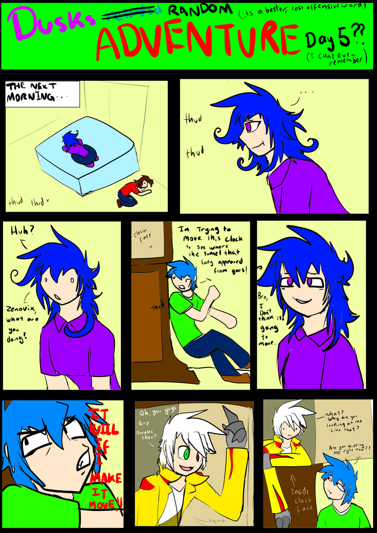 DRA Day 5 Page 1 by DuskDragonXIII