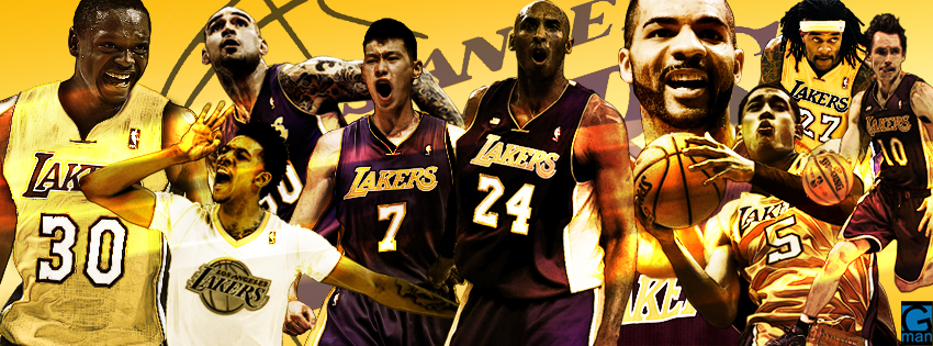 Lakers 2014 FB Cover by YaDig