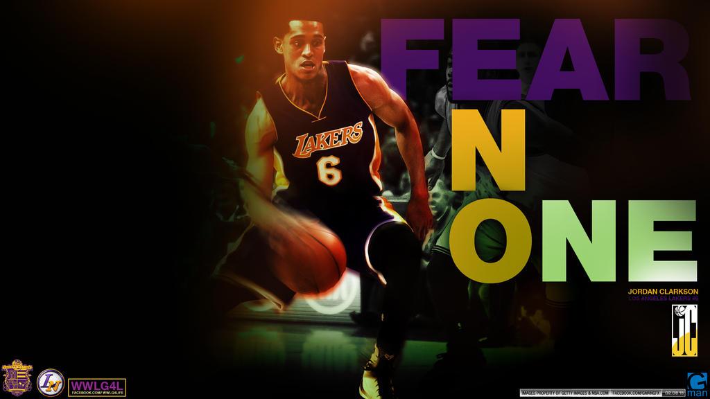 Fear No One Jordan Clarkson by YaDig