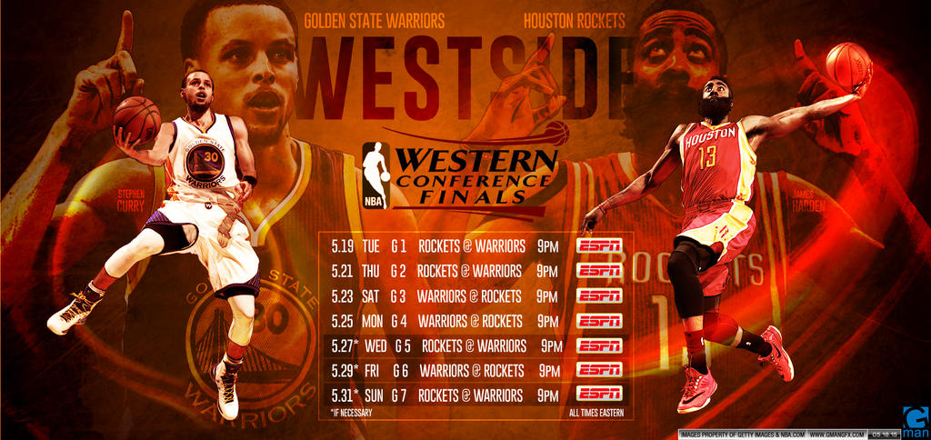Western Conference Finals 2015 by YaDig
