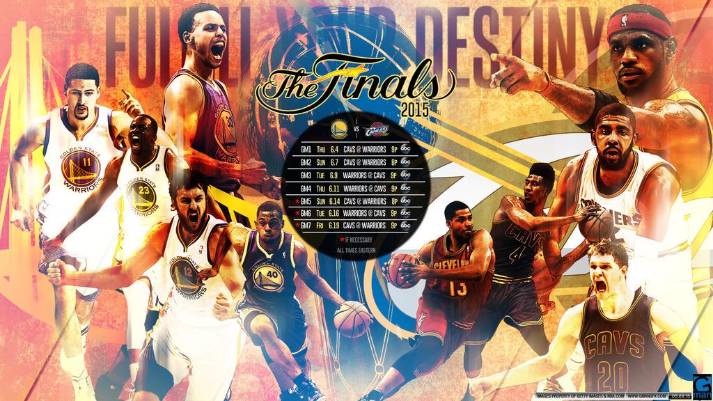 NBA FINALS 2015 Warriors vs Cavs by YaDig on DeviantArt