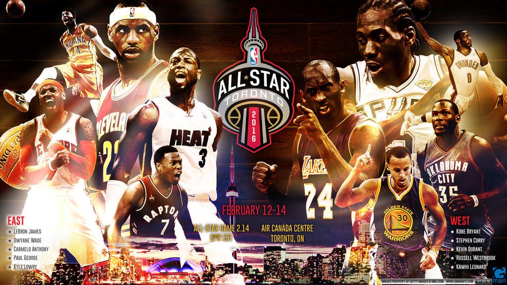 NBA All-Stars 2016 by YaDig