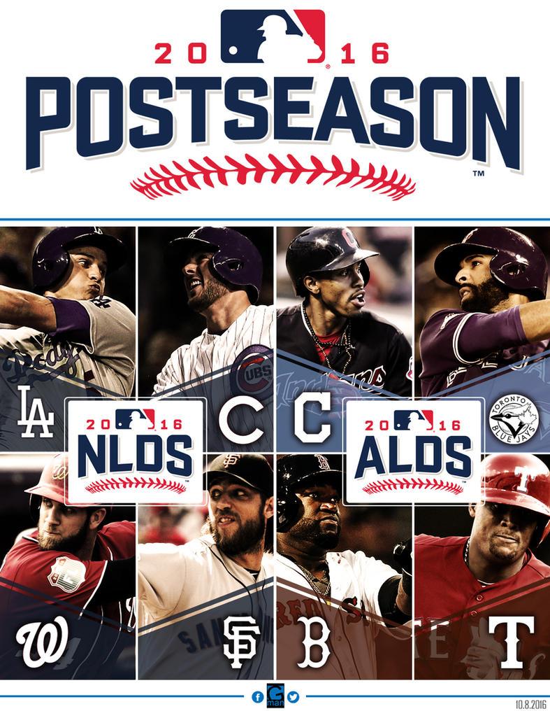 2016 MLB Postseason by YaDig