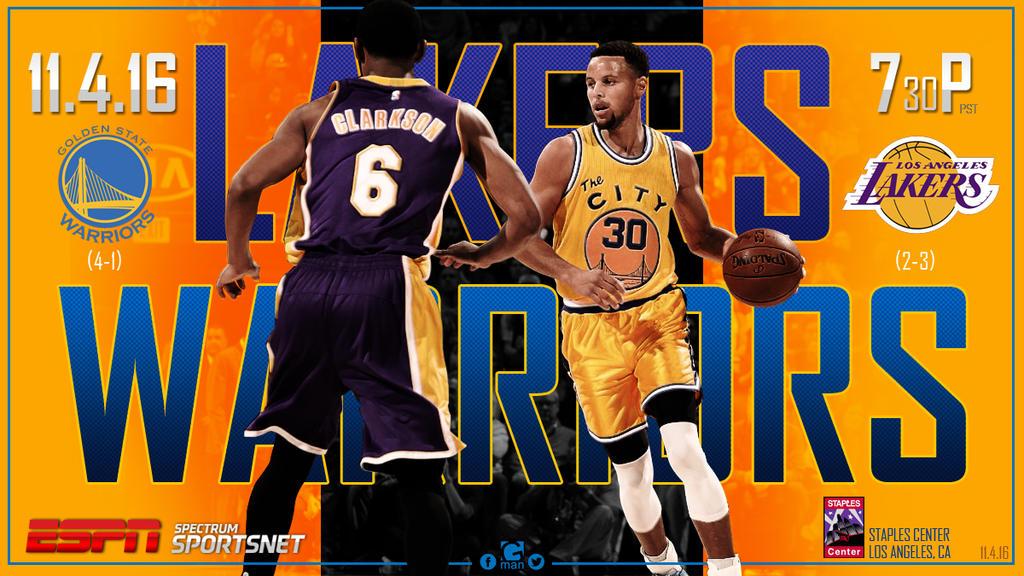 Warriors at Lakers 11.4.2016 by YaDig