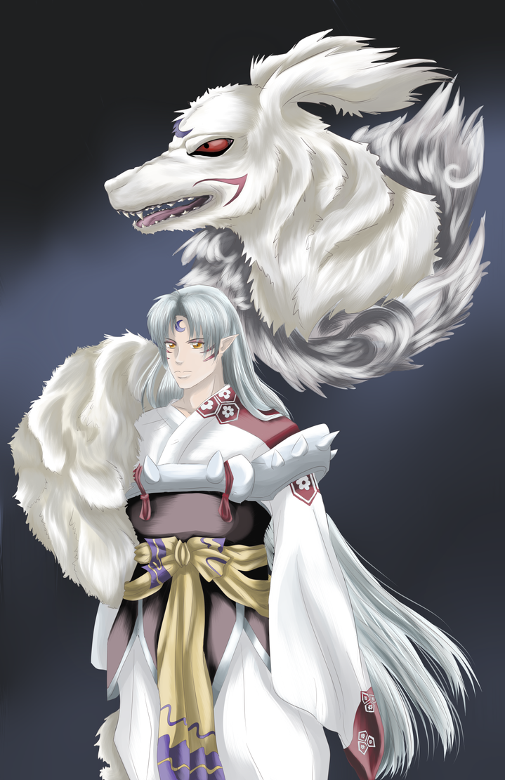 Lord Sesshomaru by Goddess-of-Gales