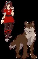Aya - Wolf's Rain fan oc by Goddess-of-Gales