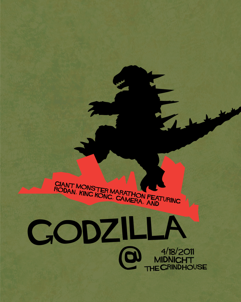 Godzilla by Xicidal